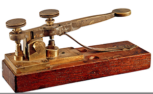 Clipart Telegraph Key.