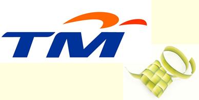 Our Social Media: TM (Telekom Malaysia) Hari Raya Open House.