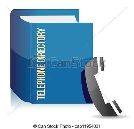Telephone directory Clip Art and Stock Illustrations. 802.