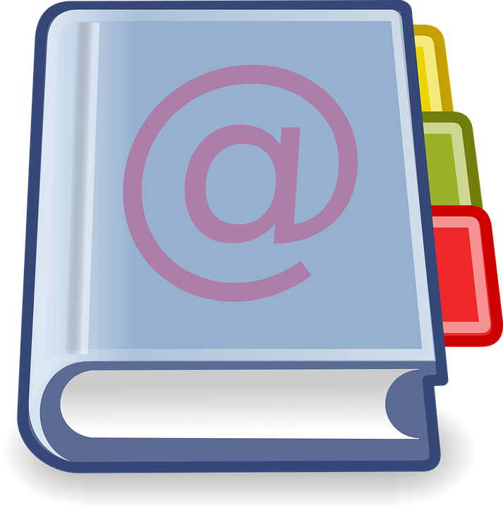 Free vector graphic: Address Book, Addresses, Email.