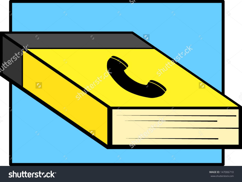 Phone Book Directory Stock Vector 147006710.