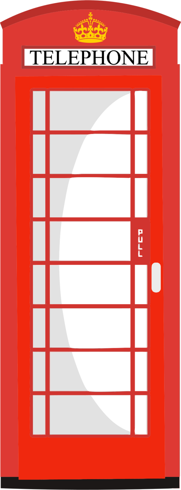 Telephone Box Clipart.