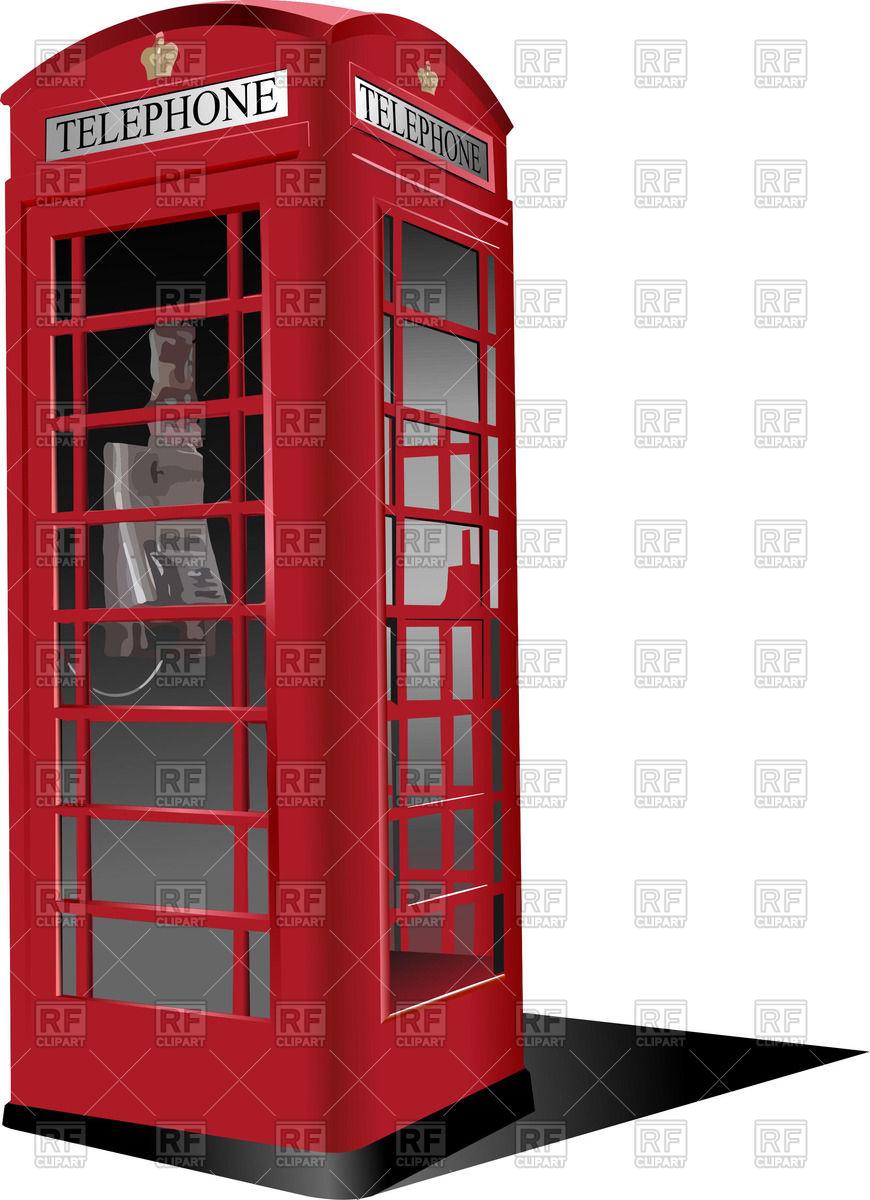 Telephone box Vector Image #53293.