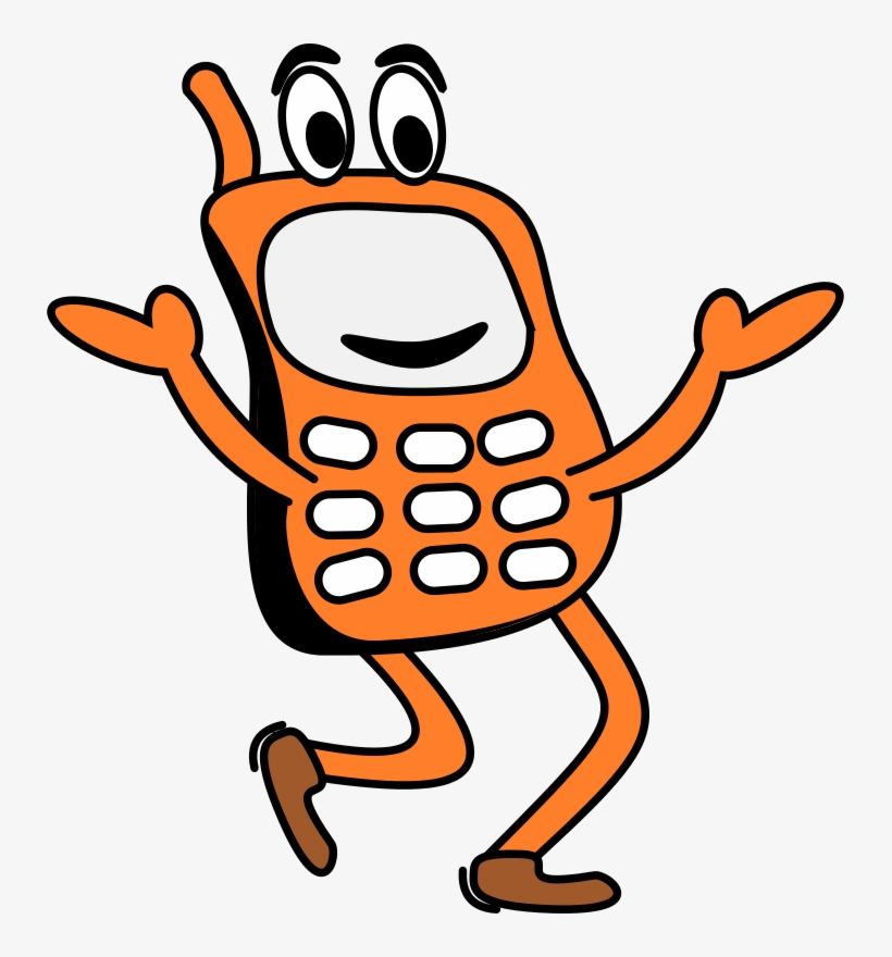 Free To Use Public Domain Mobile Phones Clip Art.