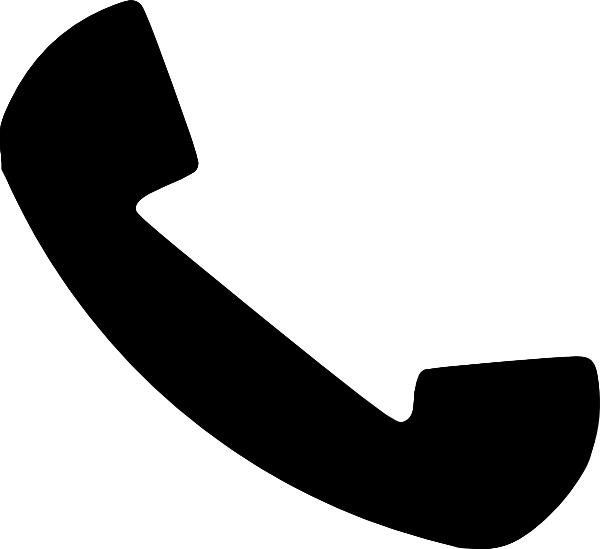 Telephone Receiver clip art (109705) Free SVG Download / 4.
