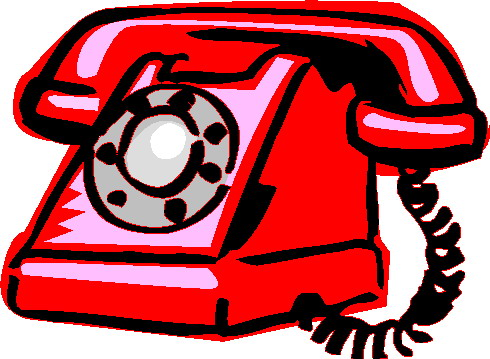 Telephone Clip Art Free.