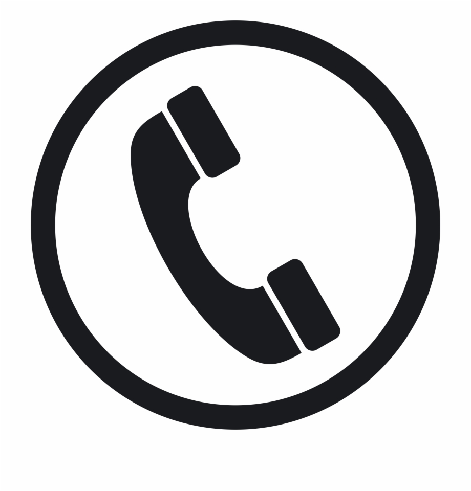 Telephone Png White.