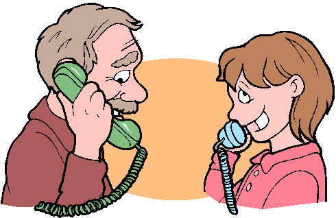 telephone communication clipart #20