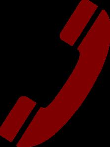 Telephone Handset Clipart.