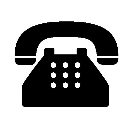 telephone symbol png image.