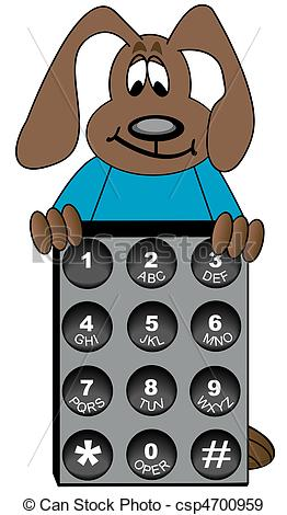 Telephone Number Clipart.