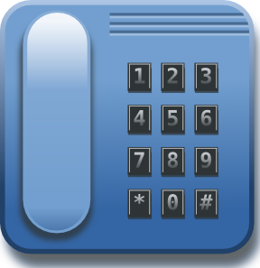 Telephone number clipart #5
