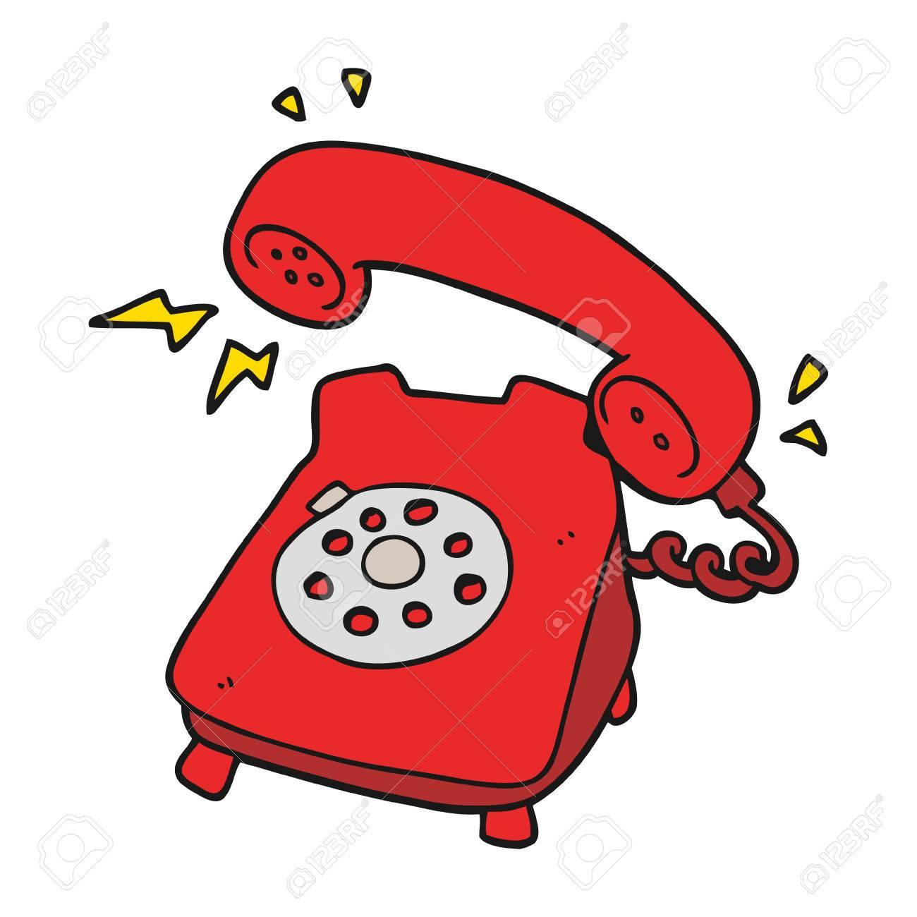 Clipart Phone Ringing.