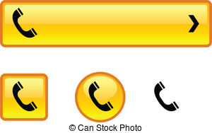 Telephone button Clip Art and Stock Illustrations. 33,564.