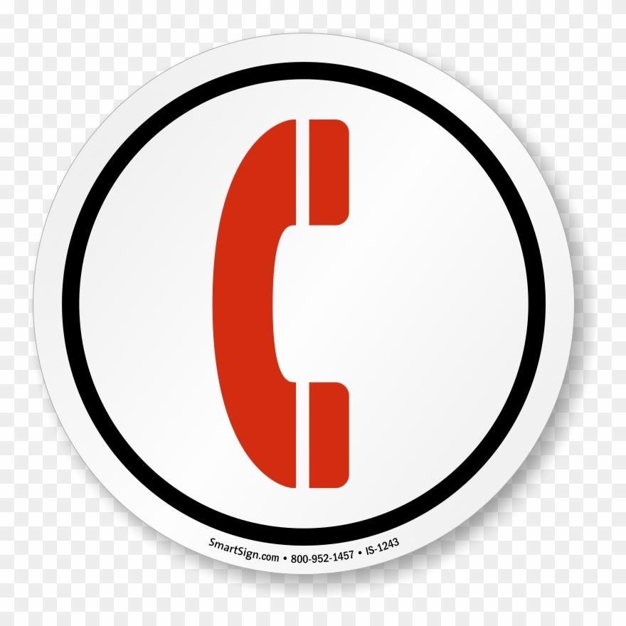 Telephone Symbol Sign, Sku Clipart (#88252).