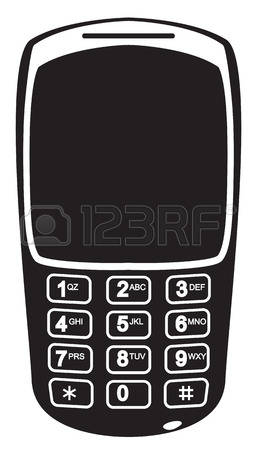 31,921 Phone Silhouette Stock Vector Illustration And Royalty Free.