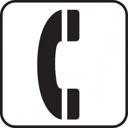 Telephone symbol clip art free vector for free download.