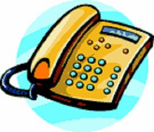 Clip Art Telephone System.