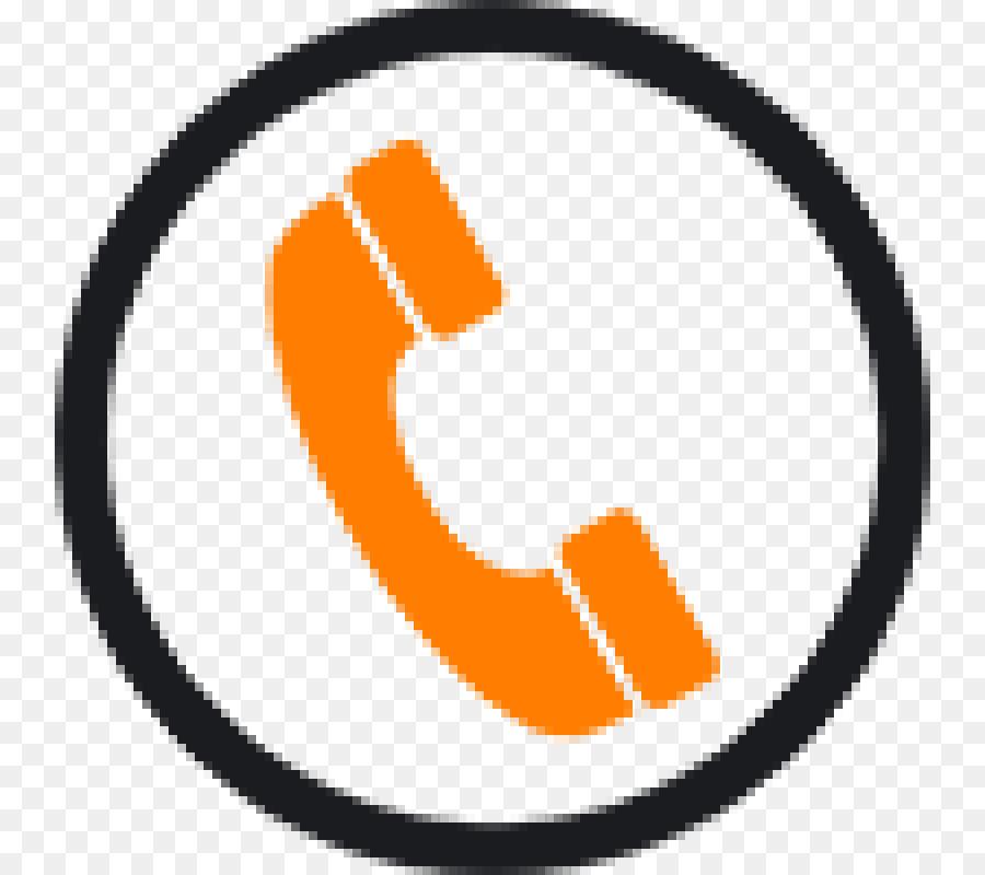 Blackphone Telephone Call Telephone Orange Line.