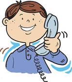 Telephone Conversation Clip Art.
