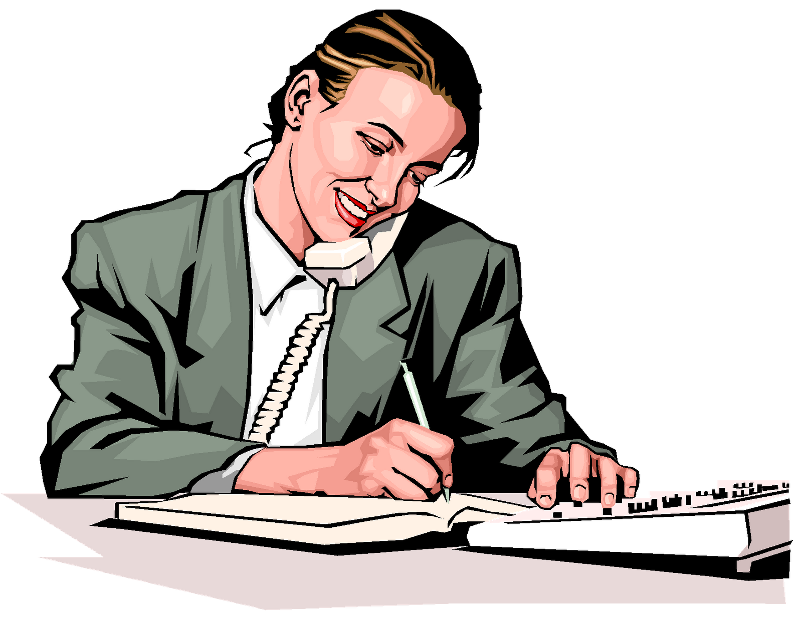 Business Phone Call Clipart.