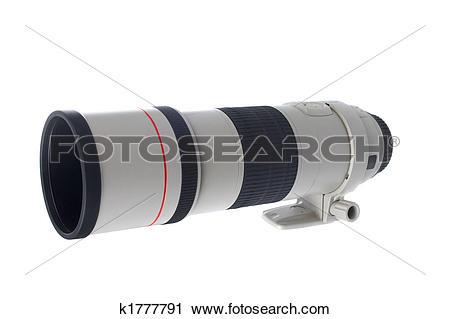 Stock Photography of Camera telephoto lens k1777791.