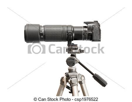 Clip Art of Camera.