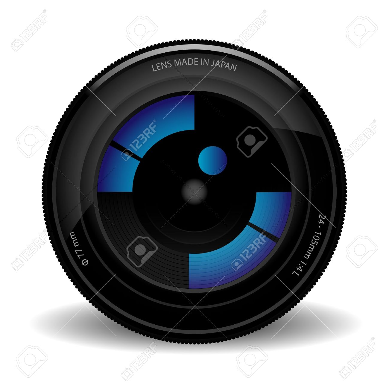 871 Telephoto Lens Stock Vector Illustration And Royalty Free.
