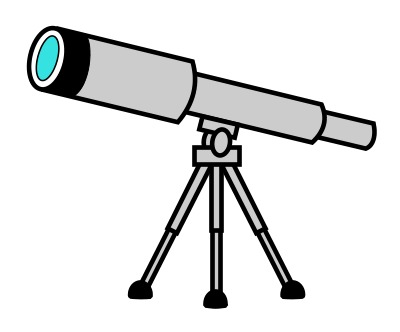 Telescope clipart 5 » Clipart Station.
