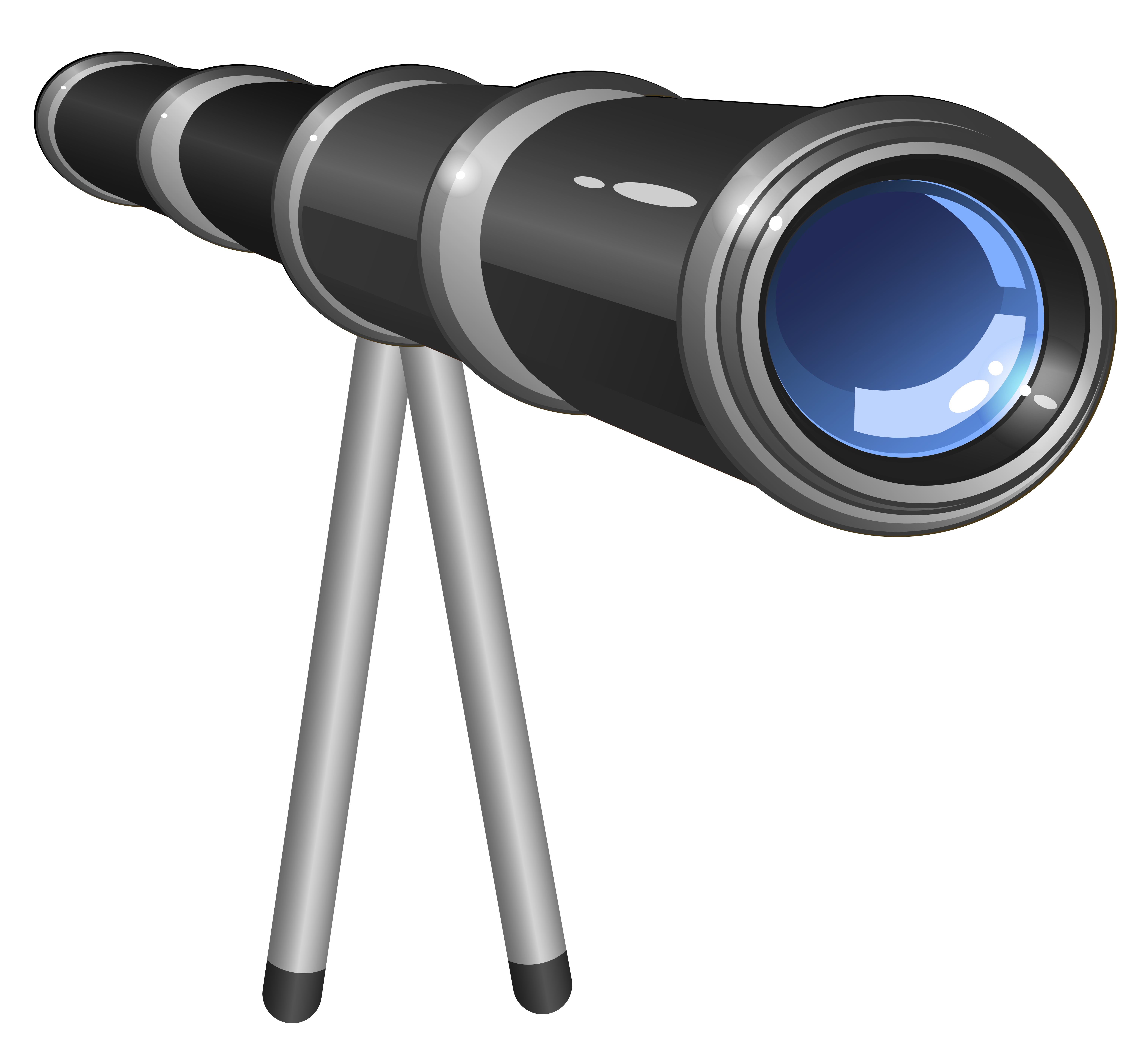 School Telescope png Clipart Picture.
