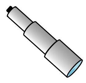Free telescope Clipart.