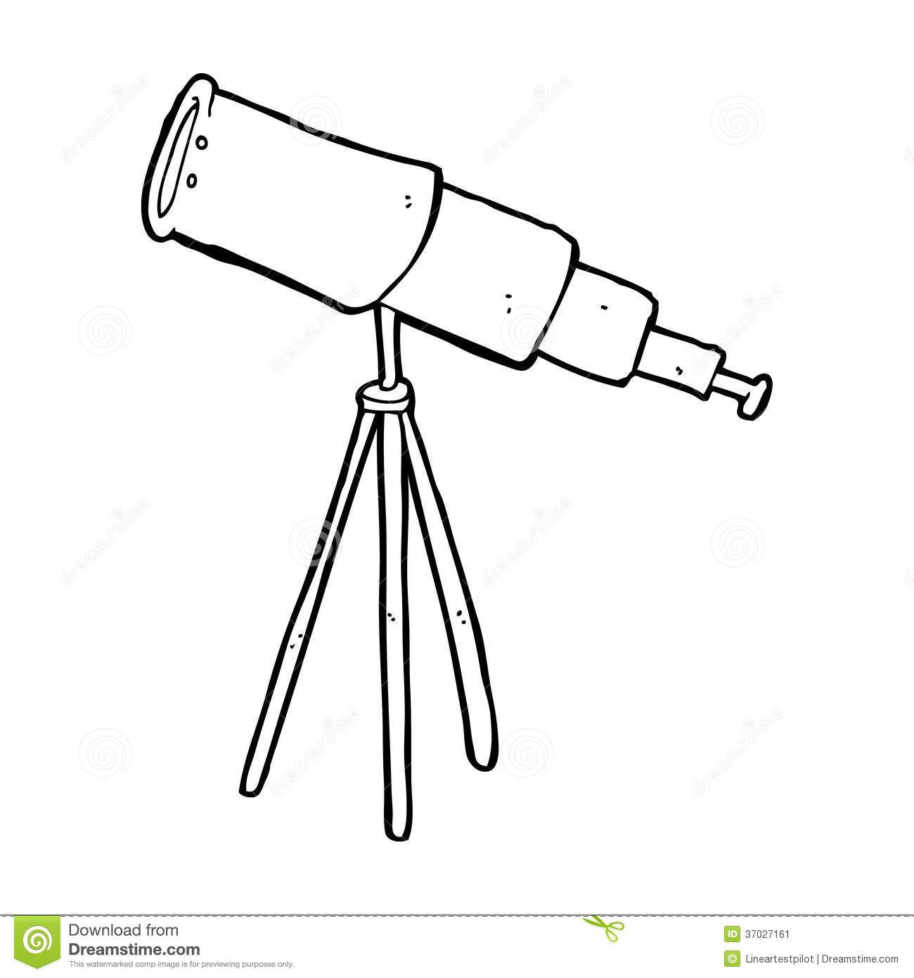 Telescope clipart black and white 4 » Clipart Portal.