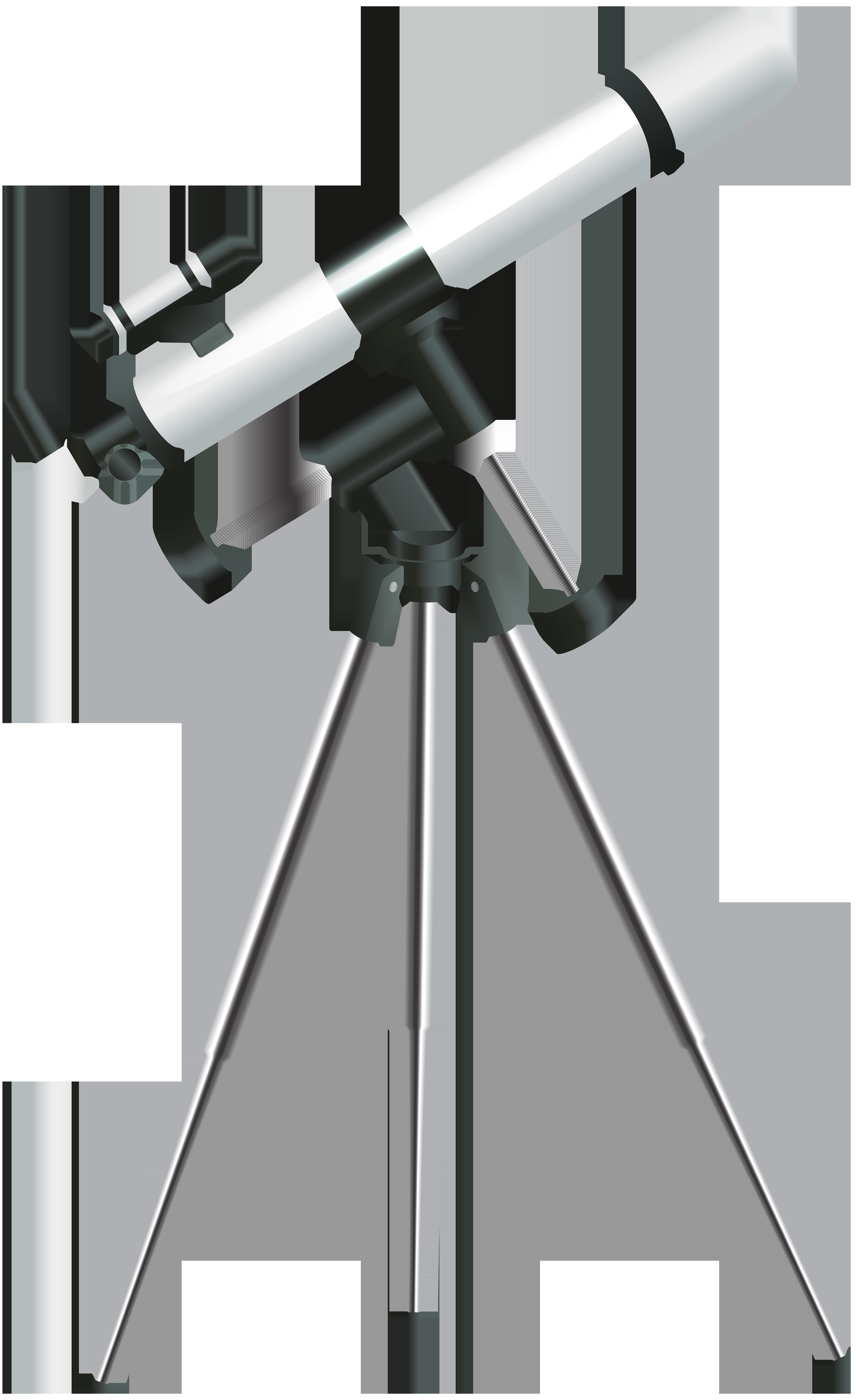 Telescope Transparent Clip Art Image.