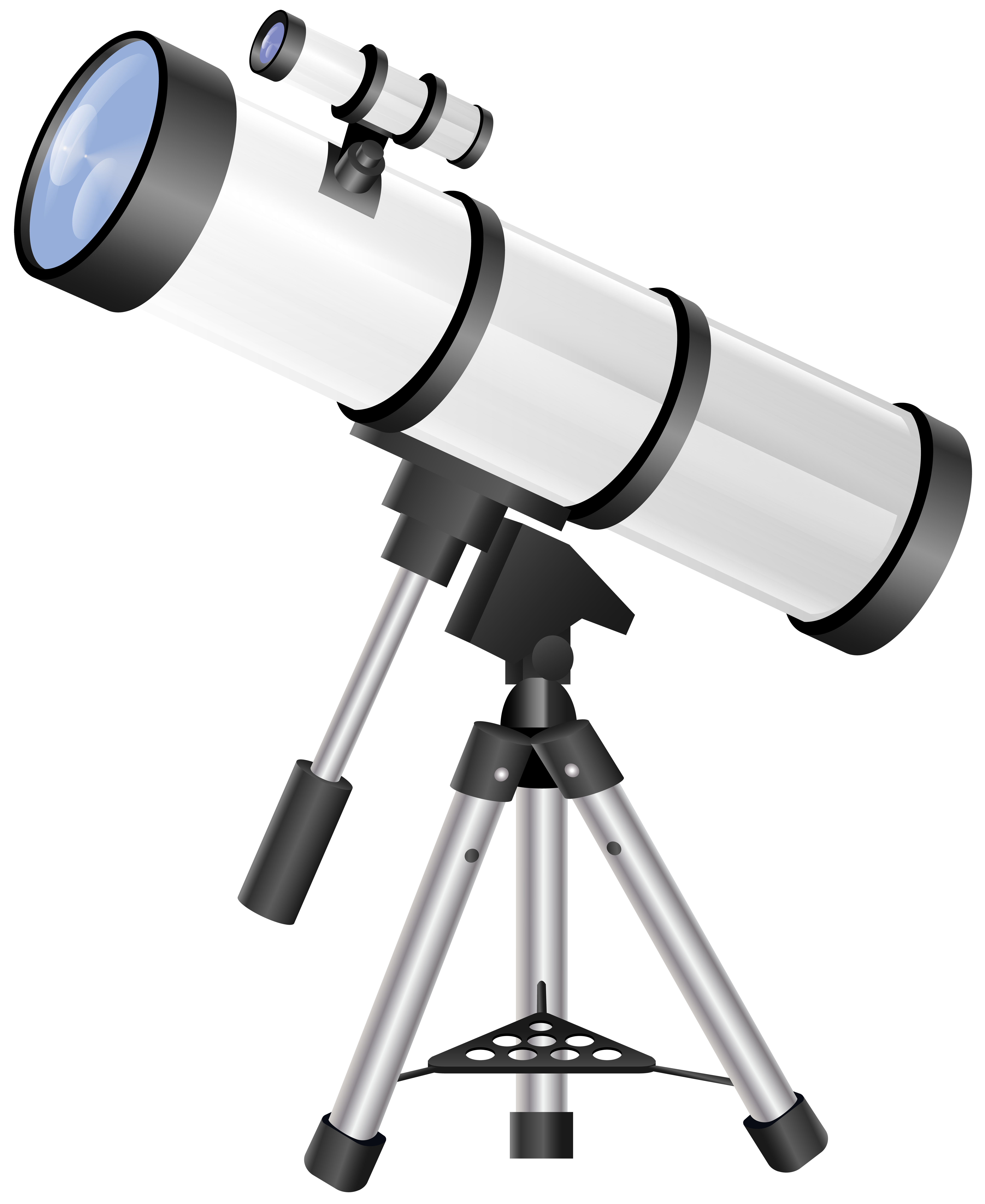 Telescope Transparent PNG Clip Art.