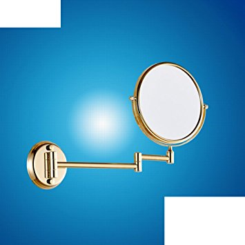 Amazon.com: Bathroom wall mount makeup mirror/ folding mirror.