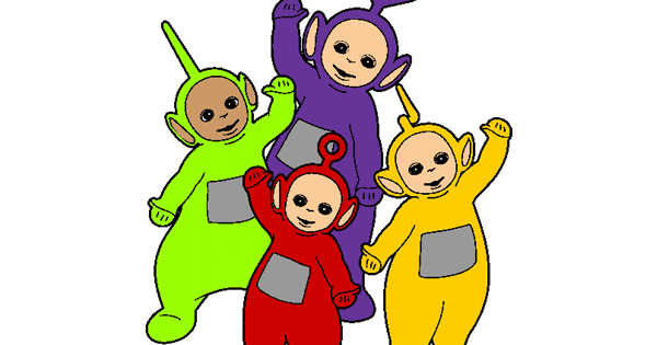 The Teletubbies Clip Art.