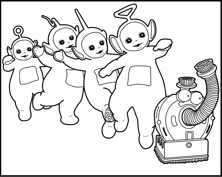 Teletubbies Coloring Pages at GetDrawings.com.