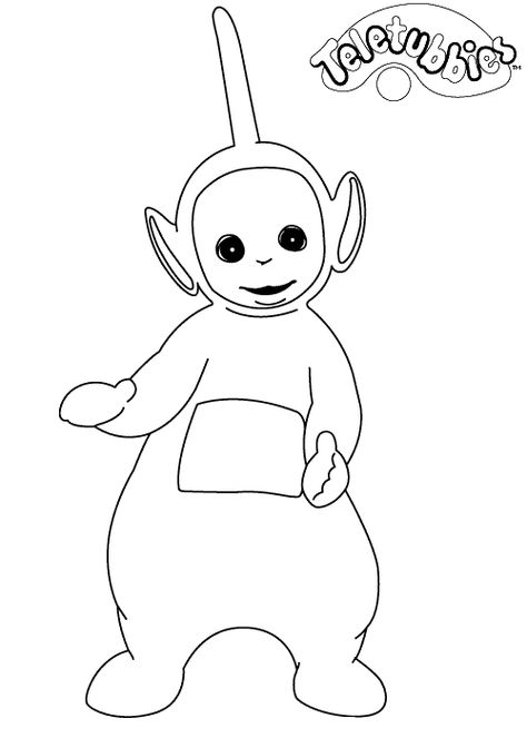 coloring page Teletubbies.