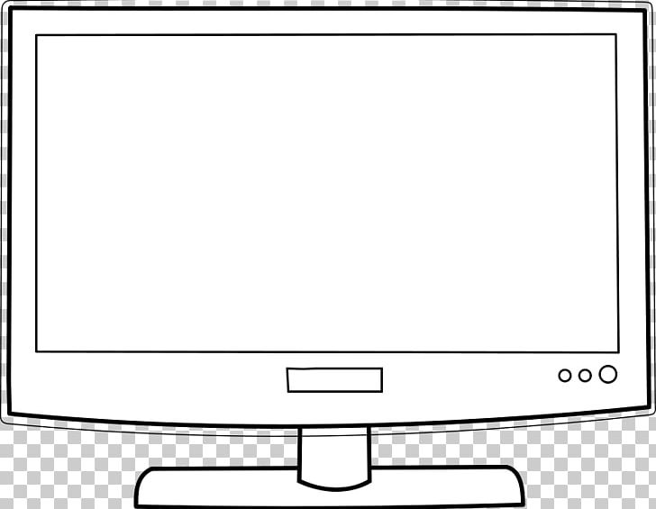 Television Black And White Cartoon PNG, Clipart, Angle, Area.