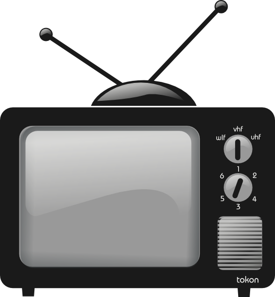 Television Clipart.