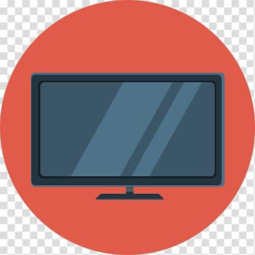 Flat screen monitor artwork, computer monitor computer icon.