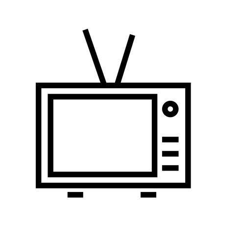 Television Icon Vector.