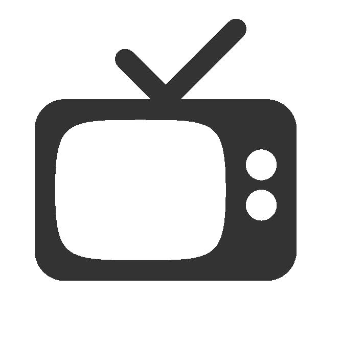 Vector Television Icon #22209.