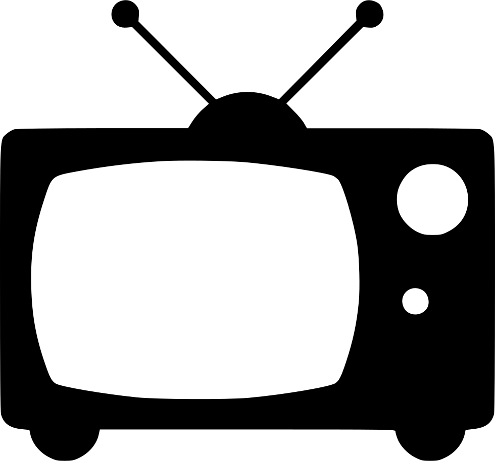 Television Old Tv Broadcast Svg Png Icon Free Download.