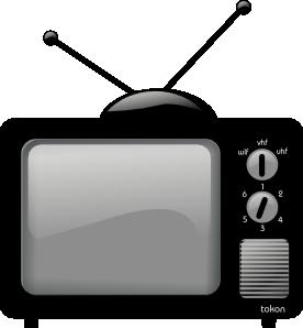 Old Television Clip Art at Clker.com.
