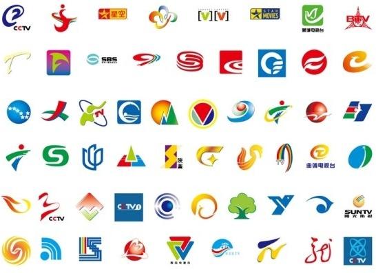 68 domestic television logo Free vector in Adobe Illustrator.