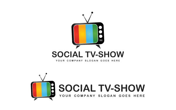 Television Logo Template.