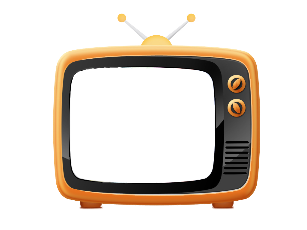 Old Television PNG Image.