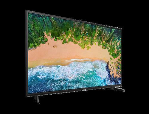 Televisor Samsung 55 pulgadas UHD 4K Smart TV.
