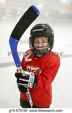 Stock Photo of Hockey. Edward's Ice Arena.Telfer Park. Beloit.